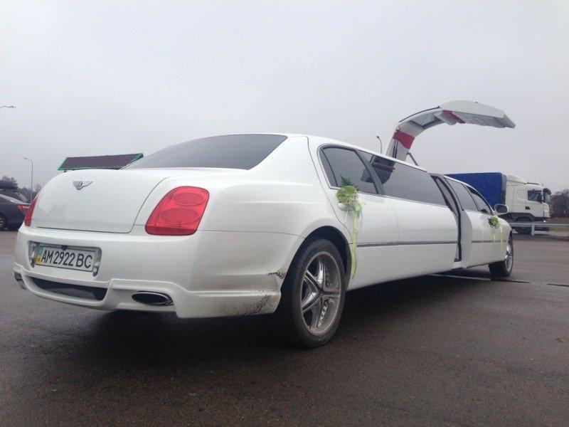 свадебное bentley киев