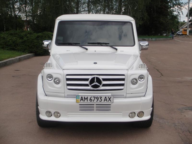 Mercedes g 320 brabus житомир лимузин